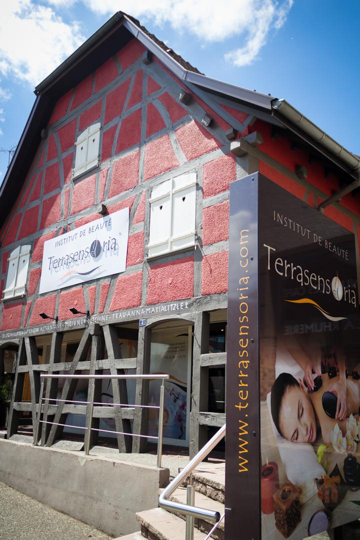 Une ancienne maison Alsacienne rénovée et aménagée en un institut de beauté Unique !