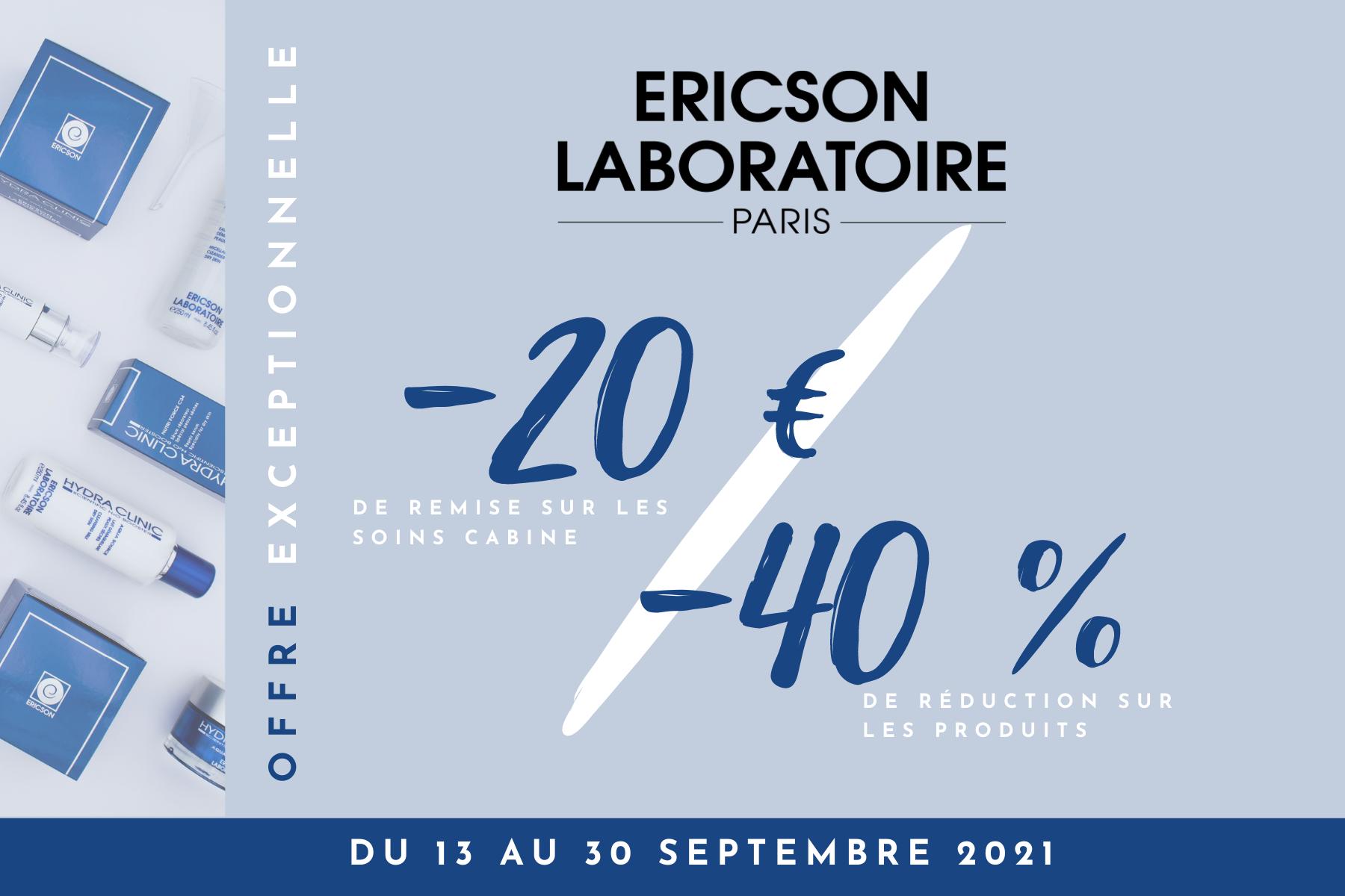 coupon ericson laboratoire promo septembre 2021